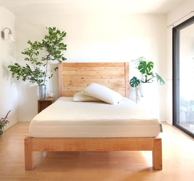 diy bed frame and wood headboard page 2 of 2 - Diy Kingsizekopfteil Plne