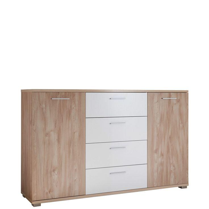 Wäscheschrank Pisa zwei Türen und Schübe Kara Jetzt bestellen unter: https://moebel.ladendirekt.de/wohnzimmer/schraenke/kommoden/?uid=ad61c07b-dcde-5355-84c7-6b37fefddaf0&utm_source=pinterest&utm_medium=pin&utm_campaign=boards #schraenke #günstig #kaufen #kleiderschrank #doppelbett #kommoden #online #wohnzimmer #komplett #schlafzimmer