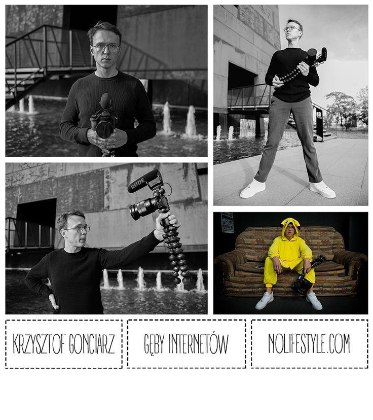 Gęby Internetów : Krzysztof Gonciarz – Nolife Style