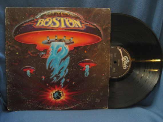 Vintage Boston Quot S T Quot Vinyl Lp Record Album Original