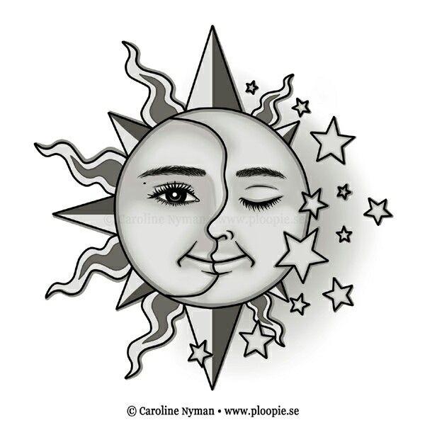 Sol y la luna.