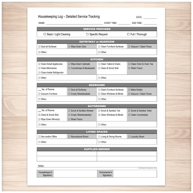 Hotel Housekeeping Services: 19 Best Cleaning Business Forms Images On Pinterest
