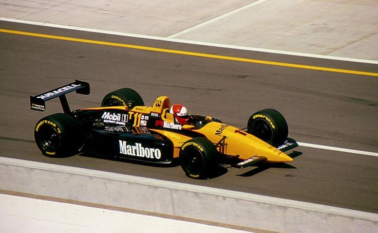 Al Unser, Jr. - Lola T9500 Ilmor-Mercedes Benz - Penske Racing - Indianapolis 500-Mile Race - 1994-95 USAC Gold Crown Championship, round 1 - 1995 PPG Indy Car World Series, round 6