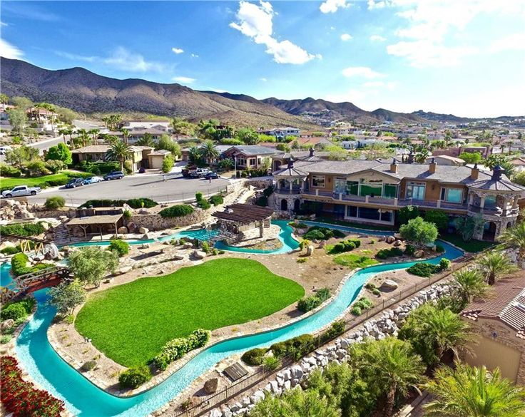 This Nevada Mansion Features Its Own Lazy River http://www.homes.com/blog/2016/09/nevada-mansion-features-lazy-river/?utm_campaign=coschedule&utm_source=pinterest&utm_medium=Homes.com&utm_content=This%20Nevada%20Mansion%20Features%20Its%20Own%20Lazy%20River