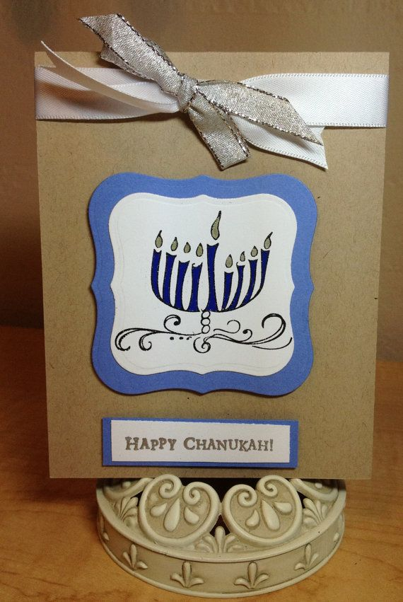218 best cardmaking jewish holidays images on pinterest homemade hanukkah menorah cards family holiday m4hsunfo Image collections