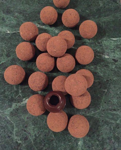 Espressonougat-tryffel