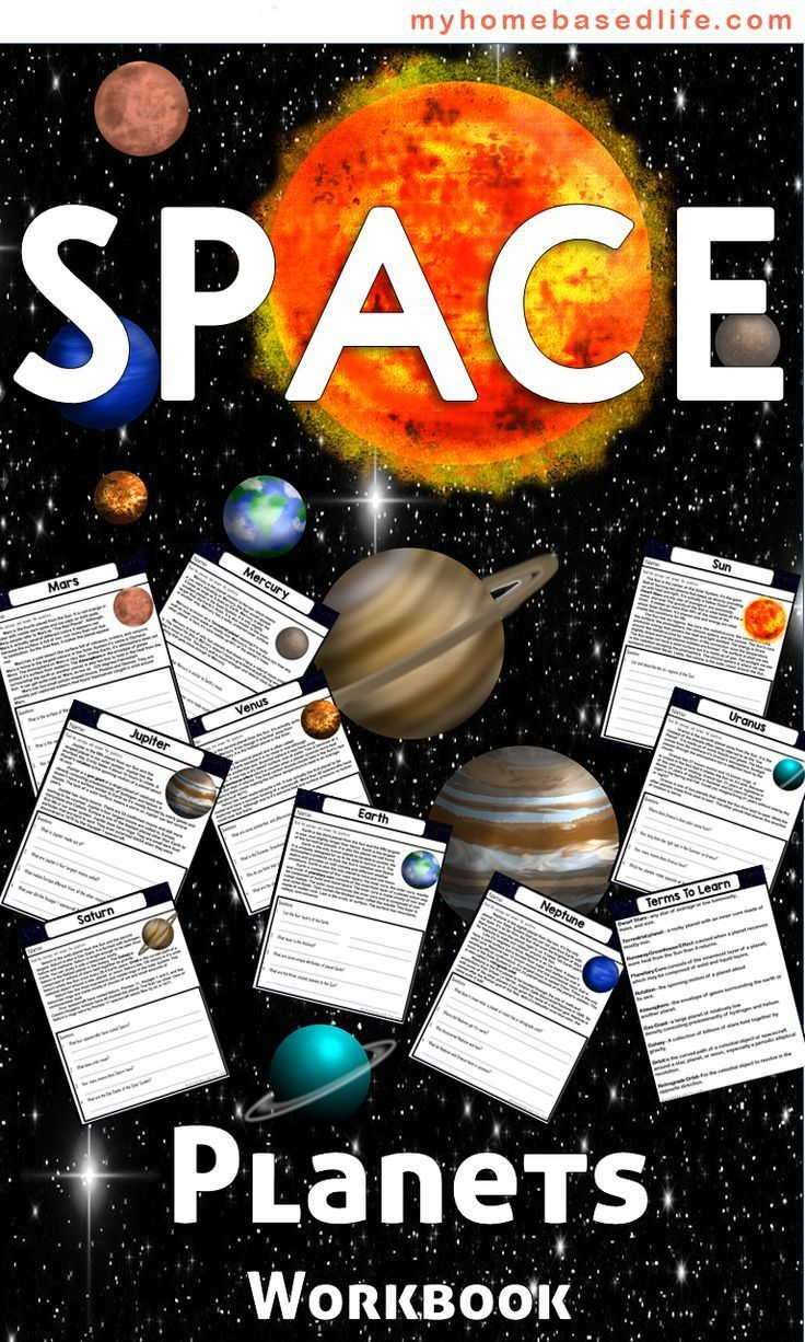 Learning About Planets Printable Workbook My Home Based Life Educational Activities For Kids Science Activities For Kids Homeschool Activities [ 1226 x 736 Pixel ]