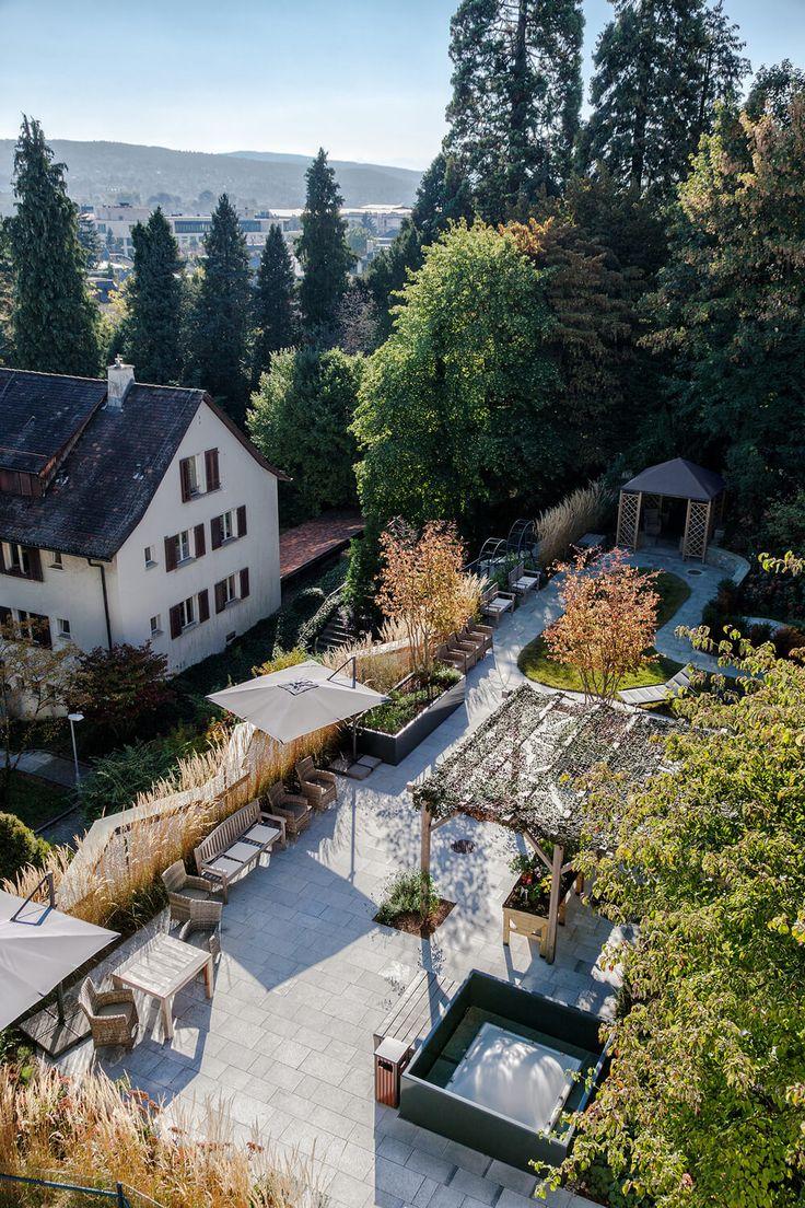 Dachgarten Alterswohnheim Enge, Zürich - Gartengestaltung.ch