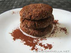 Biscotti vegan al cacao amaro e fiocchi di avena (02/04/2014) ~ Fiori di cannella