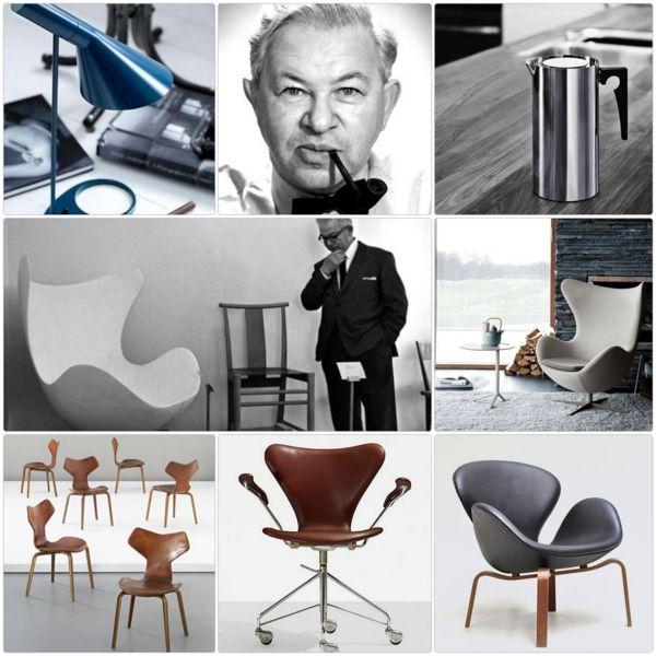 91 best designer arne jacobsen images on pinterest arne for Danish design mobel