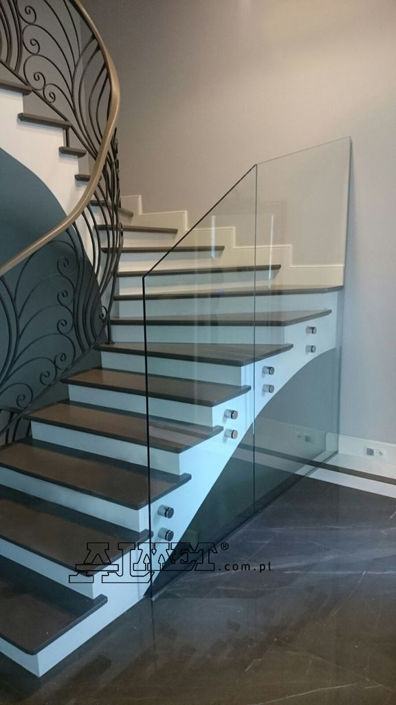 Interior wrought iron staircase railings http://almetwroughtiron.co.uk/interior-staircase-railings/