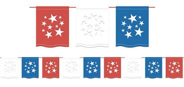 American Flag Banners - Flag Bunting & Yard Flags - Party City
