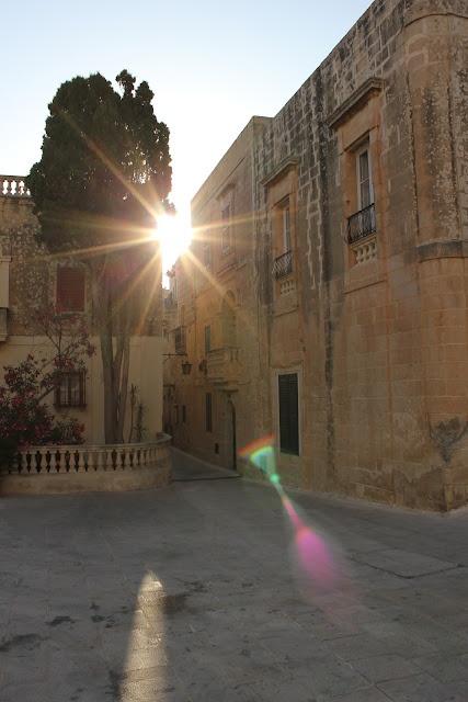 The city of silence - Mdina - the old capital of Malta,