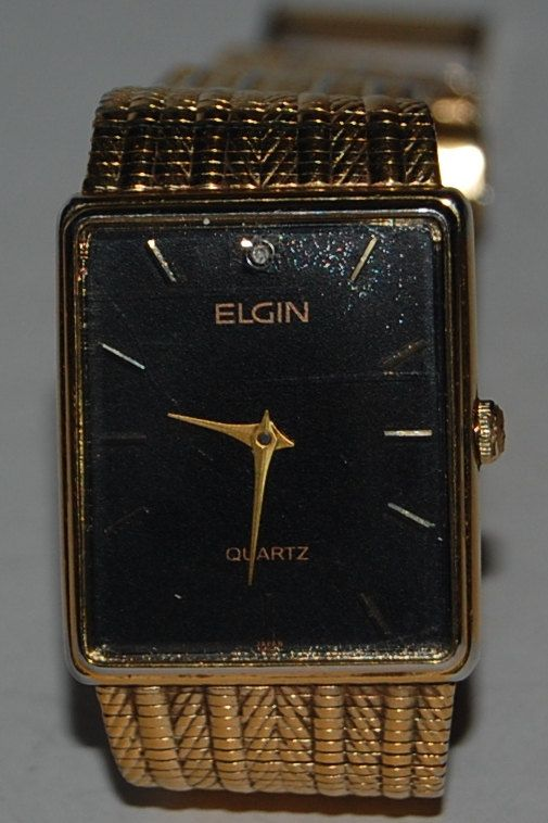 Elgin watch vintage gold watch mans watch by Everjeweledvintage, $40.00  https://www.etsy.com/listing/122638140/elgin-watch-vintage-gold-watch-mans
