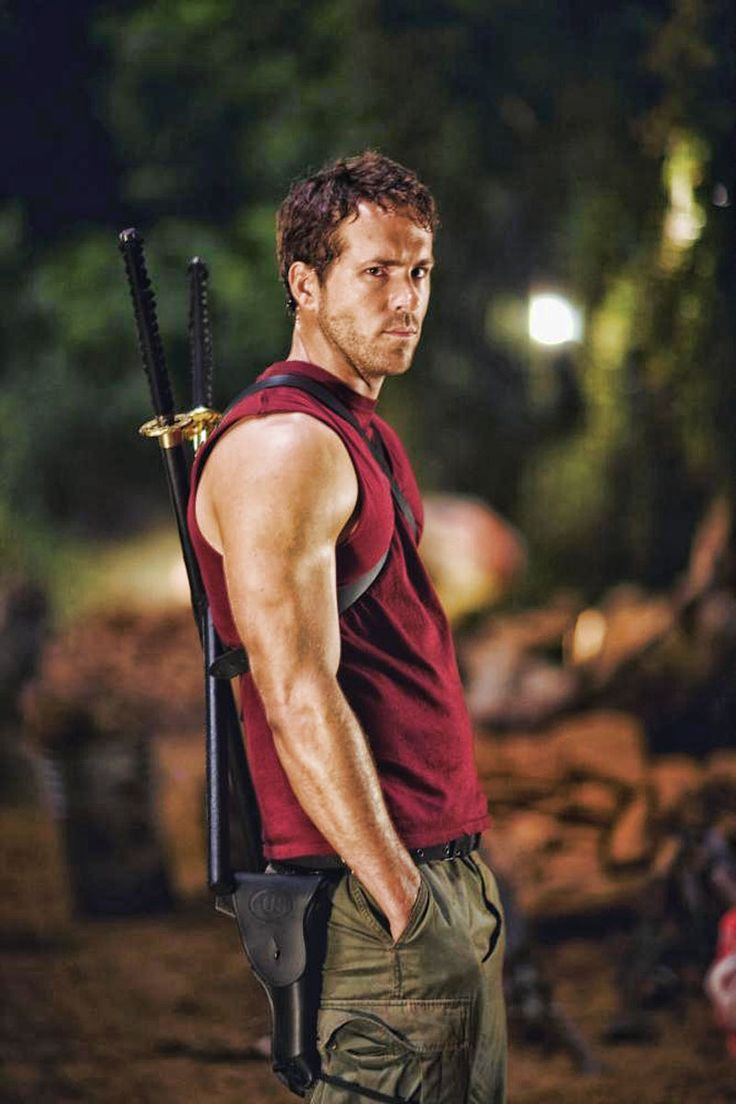 "Ryan Reynolds en ""X-Men: Orígenes: Lobezno"" (X-Men Origins: Wolverine), 2009"