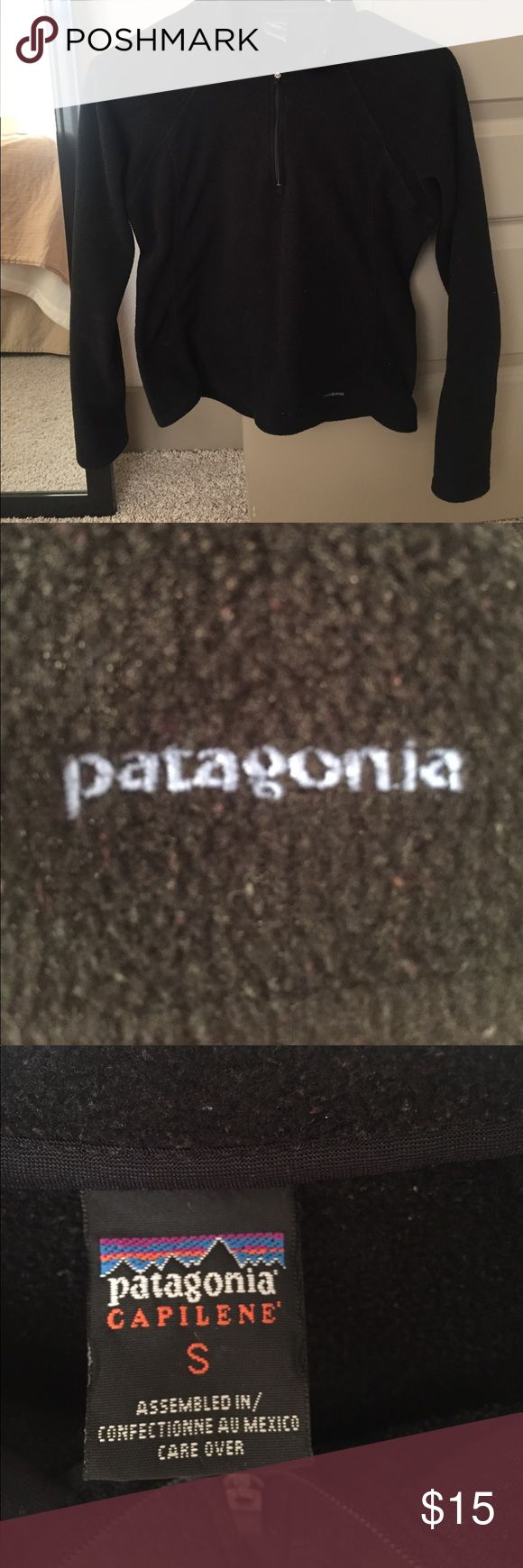Patagonia Fleece 1/4 zip Pullover small Patagonia Fleece 1/4 zip Pullover. Patagonia Tops Sweatshirts & Hoodies