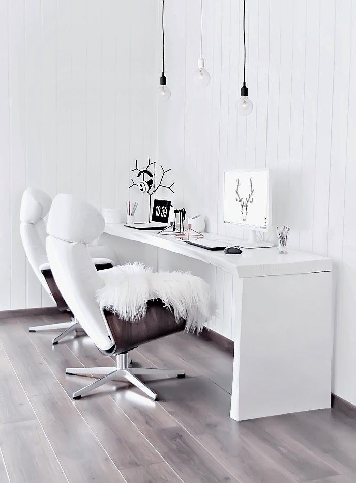 Sunday work from the bright home office   onlydecolove.com