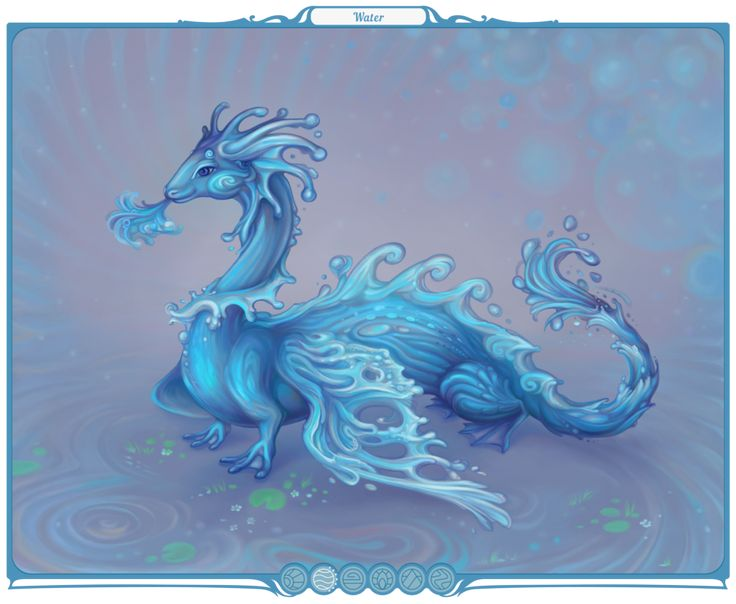 Chimera of Water by Yullapa.deviantart.com on @DeviantArt