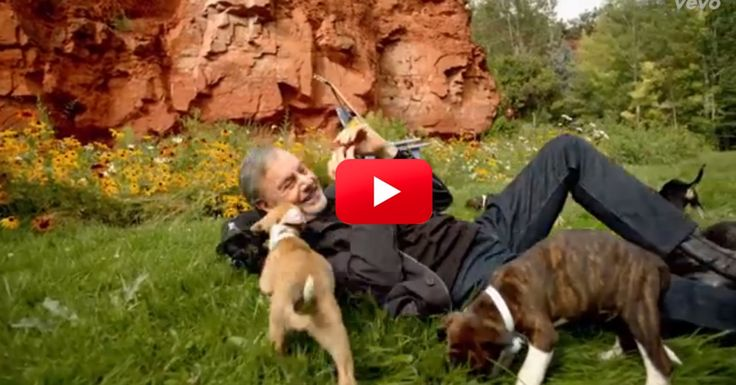 """October is Adopt A Shelter Dog Month & we have seen some incredible stories come through about the joys of giving shelter dogs a great home. Well, apparently Neil Diamond got the message too! In his new music video for the song """"Something Blue,"""" Neil decided to work with a group of puppies from Colorado Animal Rescue & the result is adorable! Not only is Neil helping to bring attention to shelter dogs, but he even adopted two of them! Talk about using music to help others!"""