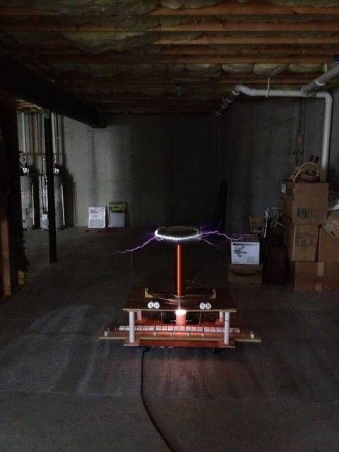 Tesla coil in 9 steps