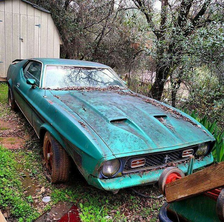 224 best ABANDONED MUSCLE CARS images on Pinterest | Abandoned cars ...