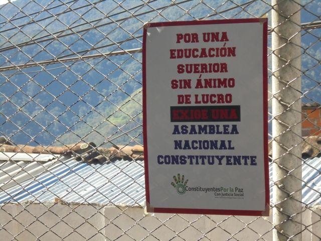 Hacarí. Educación pública, Asamblea Nacional Constituyente