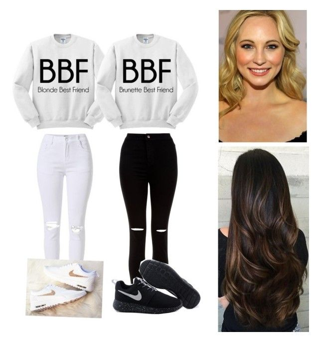 """That's My Best Friend "" by kkemblue ❤ liked on Polyvore featuring New Look"