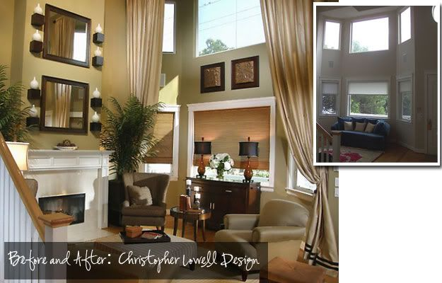 Two Story Curtain Designs Two Story Curtains Layout Of Family Room Pinterest