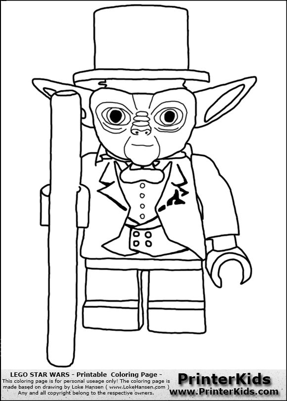 91 Click The Lego Star Wars Master Yoda Coloring Pages To View Printable Version Or Color It