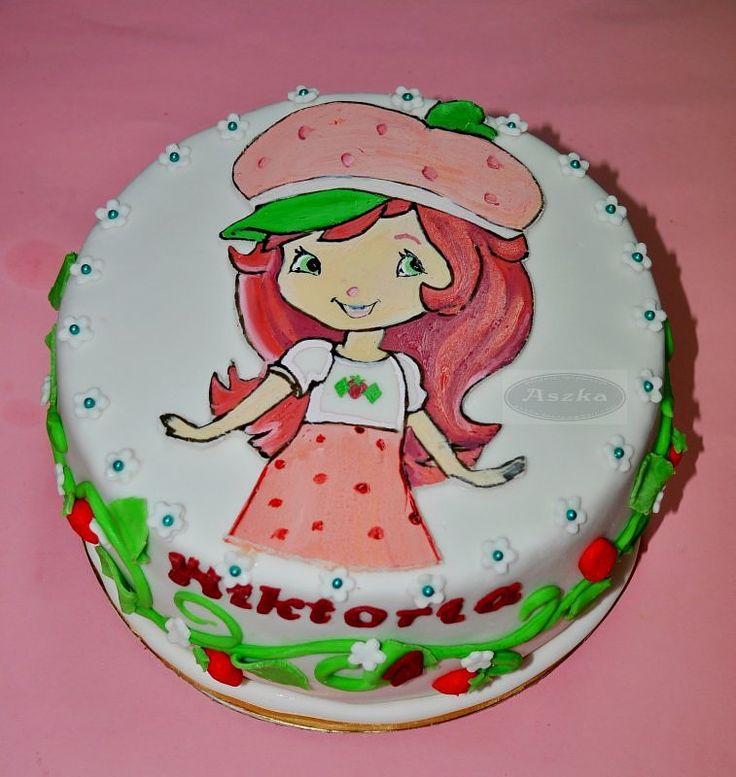 tort truskawkowe ciastko - ewa