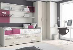 Dormitorio infantil juvenil moderno, 43-20 -