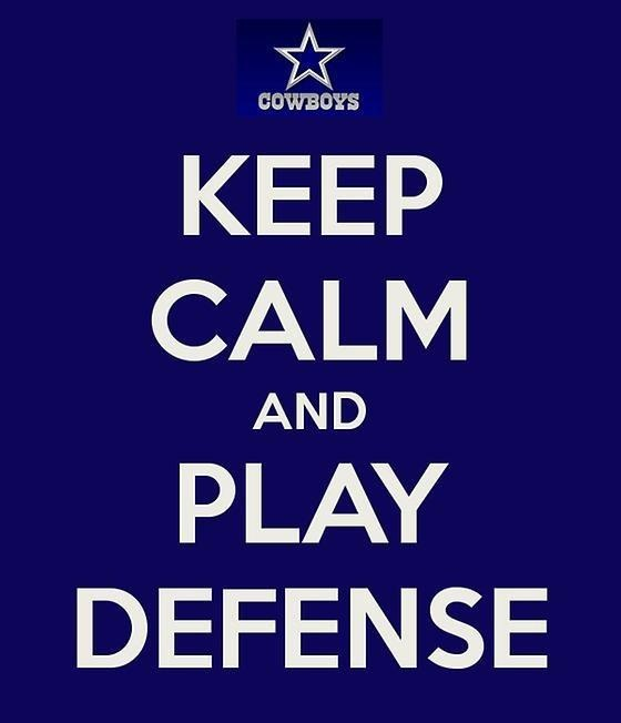 OK BigD, keep calm and play defense! @dallascowboys #cowboys #cowboynation (soon available as a TShirt)