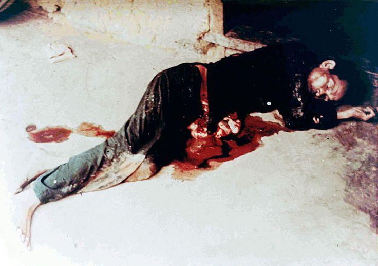 Unidentified dead Vietnamese man - My Lai Massacre https://en.wikipedia.org/wiki/My_Lai_Massacre