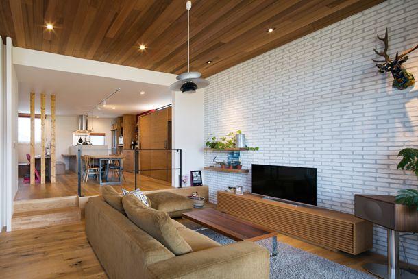 自然を感じられる家・間取り(大阪府箕面市) | 注文住宅なら建築設計事務所 フリーダムアーキテクツデザイン
