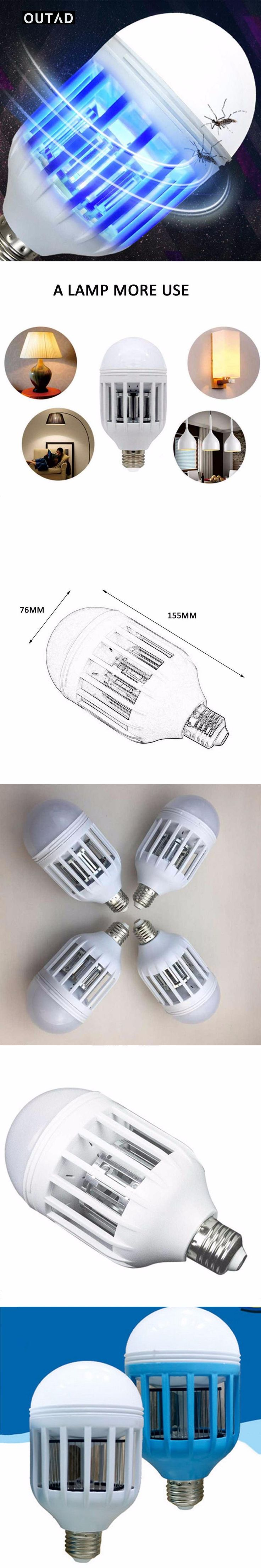 The 25 best e27 led ideas on pinterest led lighting home outad e27 led bulb mosquito electronic killer night light lamp insect flies repellent house accessorie lighting parisarafo Gallery