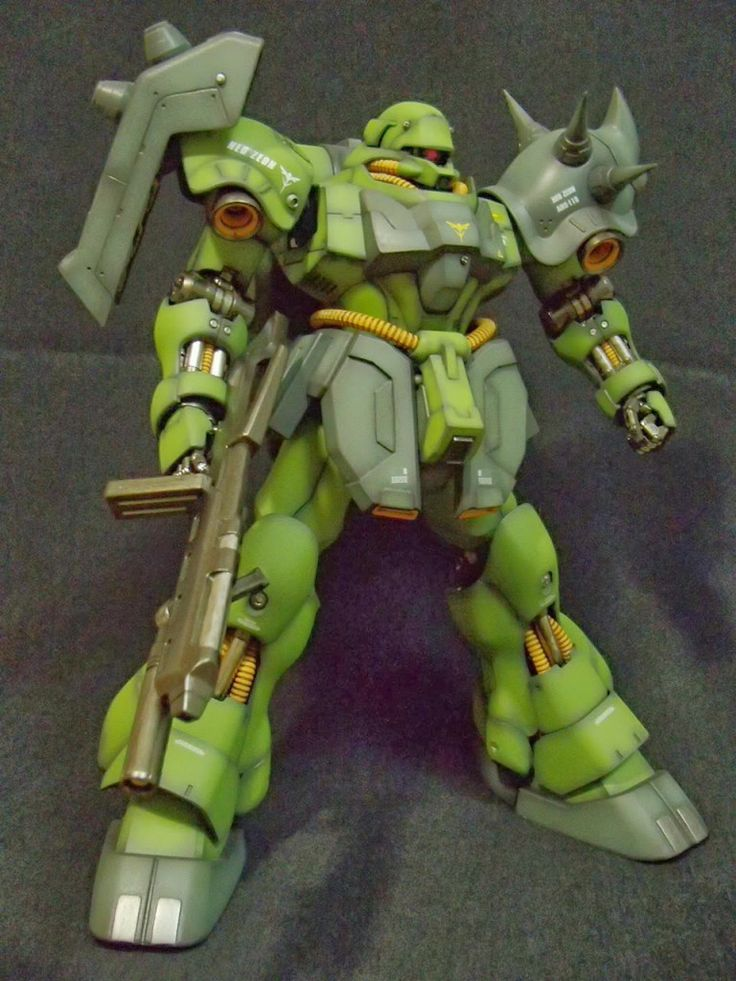 MG 1/100 AMS119 Geara Doga Good Paint Job by じろうX