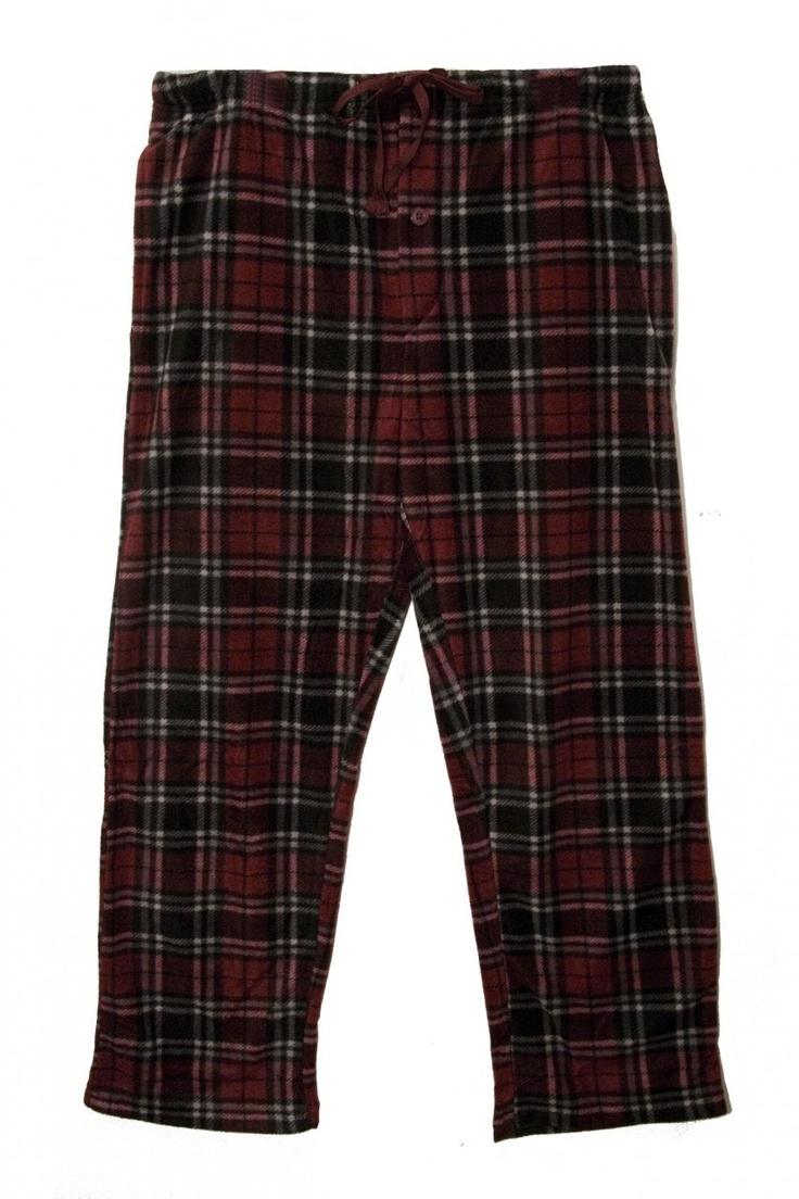 (http://www.labelshopper.com/mens-ultra-soft-plaid-fleece-pajama-pants/)