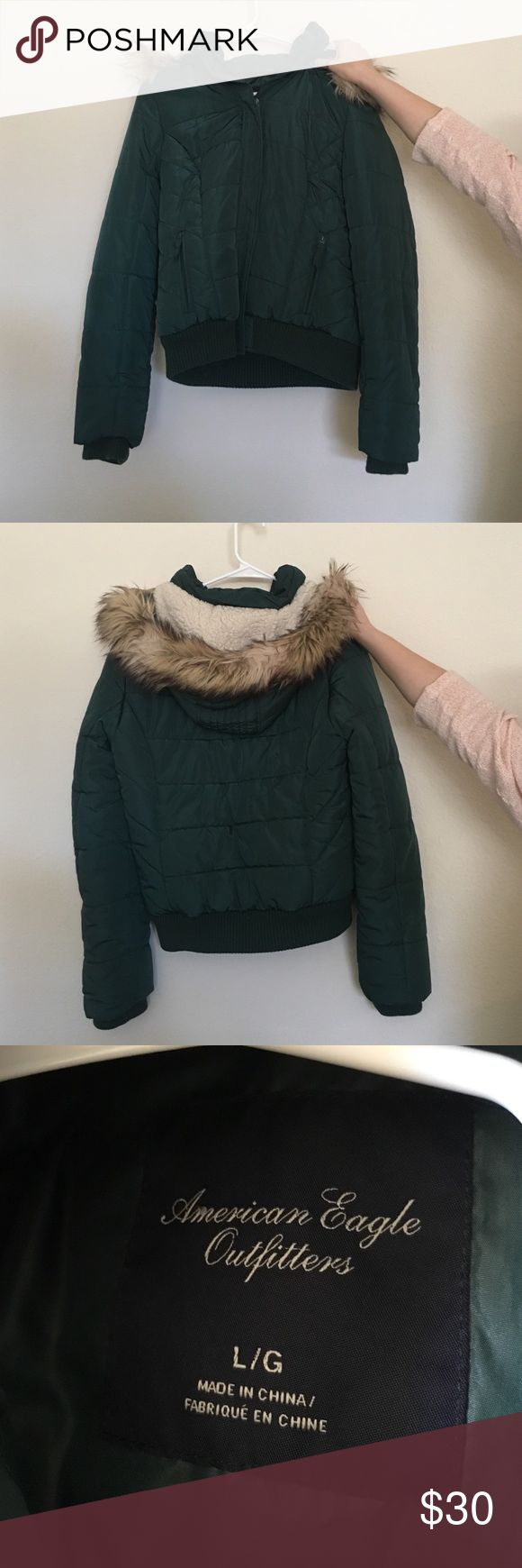 American Eagle jacket Great condition! American Eagle Outfitters Jackets & Coats Puffers
