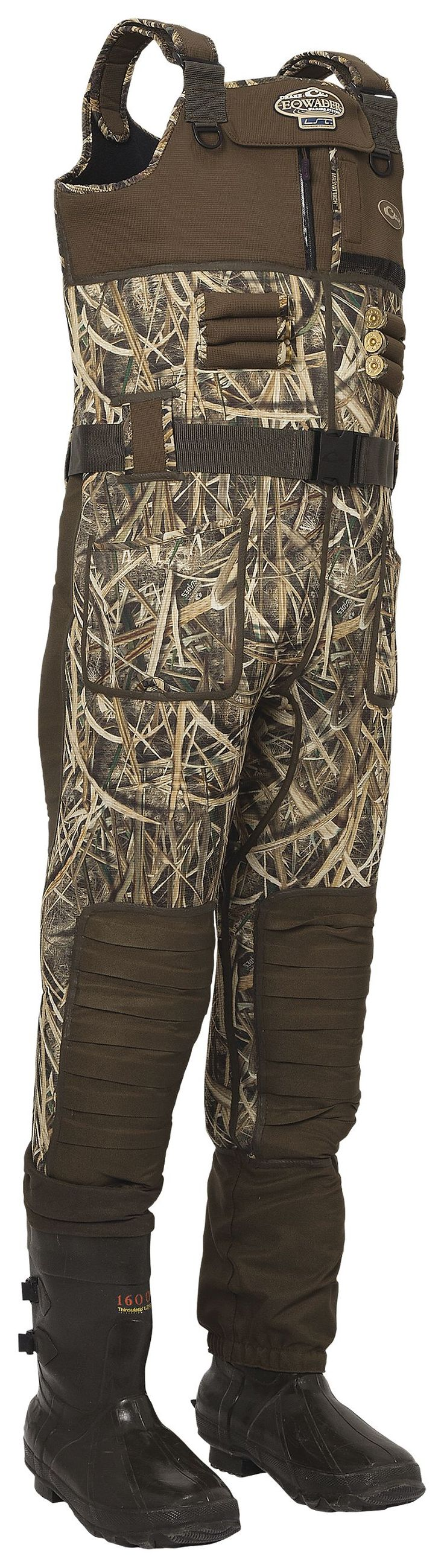 Drake Waterfowl Systems LST Eqwader 2.0 Bootfoot Waders for Men - Mossy Oak Shadow Grass Blades | Bass Pro Shops: The Best Hunting, Fishing, Camping & Outdoor Gear