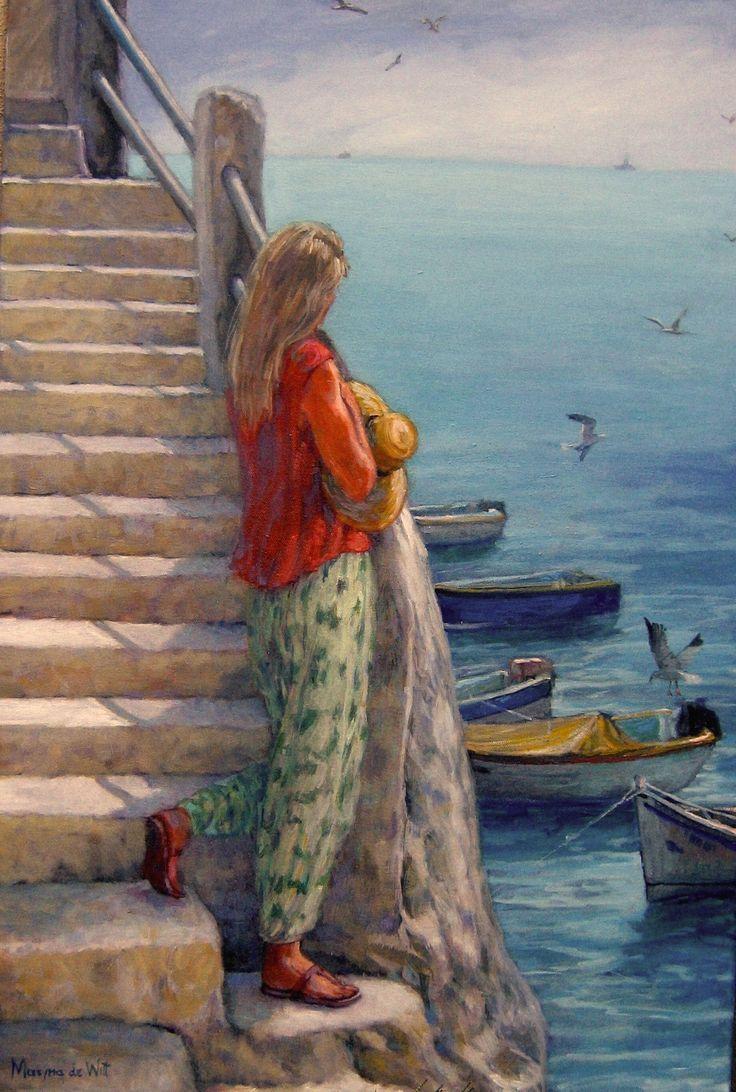 Girl in Malta