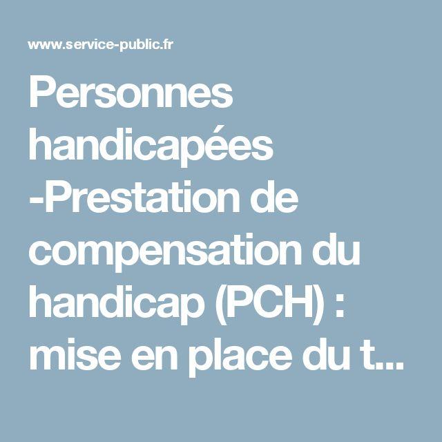 Personnes handicapées -Prestation de compensation du handicap(PCH) : mise en place du tiers payant lors de l'achat d'aides | service-public.fr