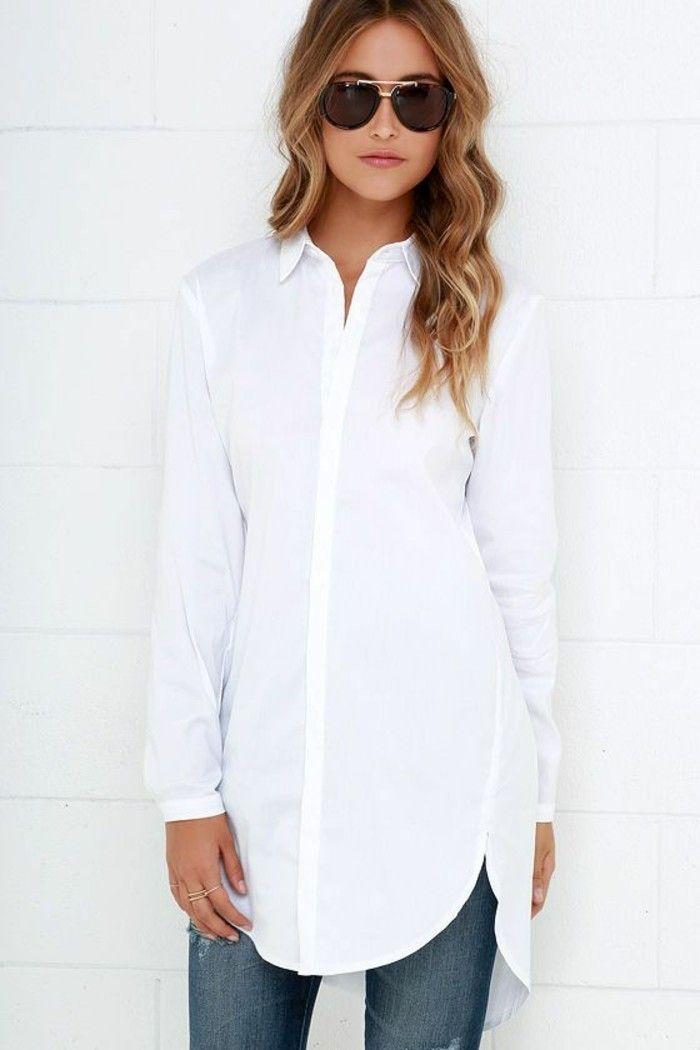 weißes hemd damen