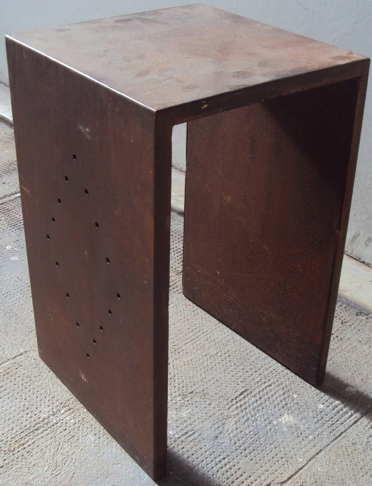 83 best mesa images on pinterest iron furniture and for Mesa cuadrada
