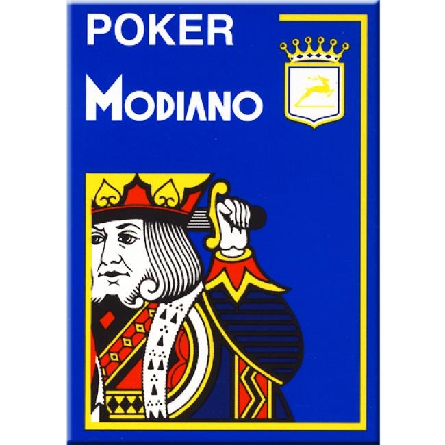 Since 1868 maakt Modiano kwaliteit poker kaarten.