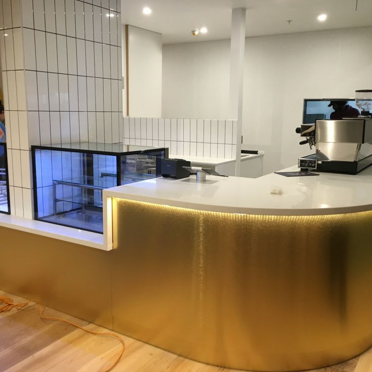Hamptons Bakery Serves Up Brushed Light Brass | That Metal Company