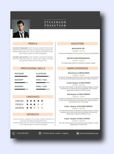 Modernista |remarkably smart resume templates Simple to Edit | Microsoft Word Ready | Creative Designs