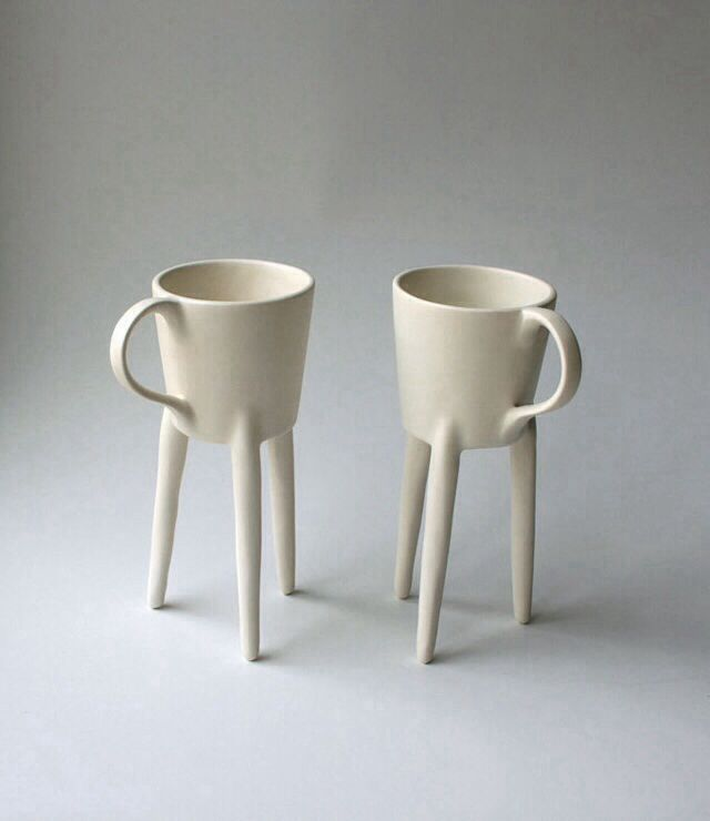 Tripod Mug #tea #ceramic