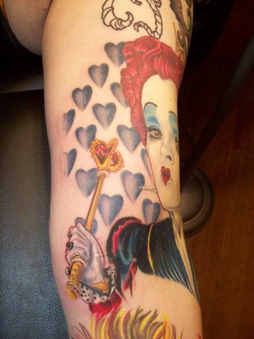 140 best images about girl tattoo 39 s on pinterest for Red queen tattoo