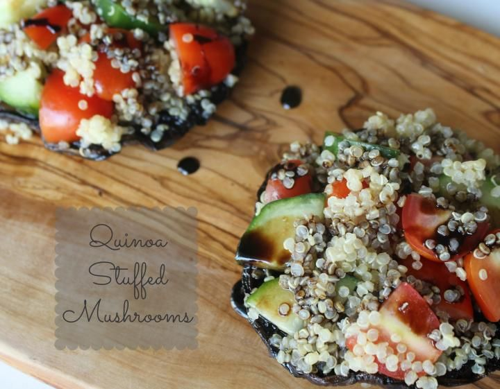 135 best healthy wraps sandwiches images on pinterest member recipe quinoa stuffed mushroom forumfinder Images