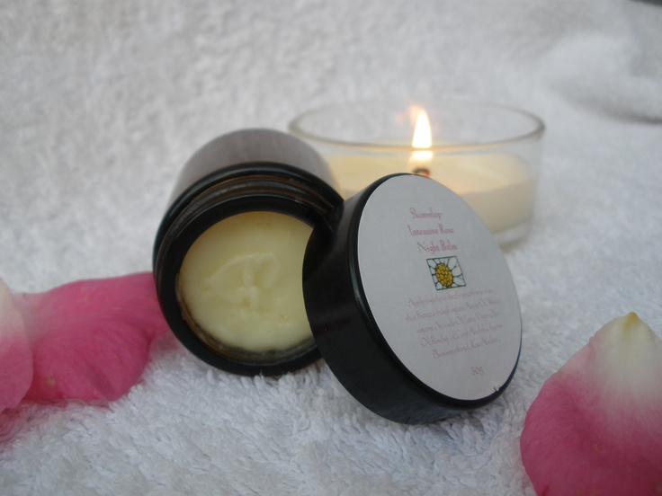 A beautiful skin nurturing night balm that will help restore back what the day has taken out.  With an exotic blend of East African Shea butter, organic pumpkin seed oil, camillia seed oil, & argan oil to deeply nourish & feed your skin while you sleep.  Available @ Indigo Amber Teething Jewellery on Facebook
